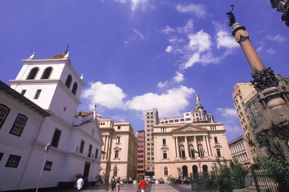 Pátio do Colégio: instalado no centro histórico de São Paulo