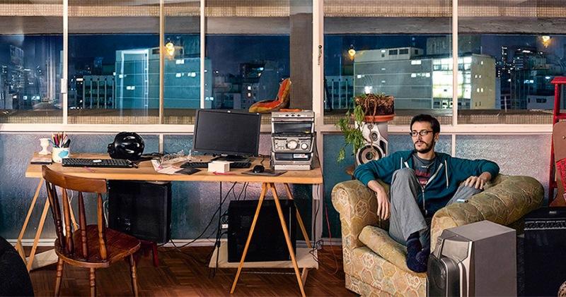 A exposição de Claudia Jaguaribe reúne fotografias de apartamentos e fachadas de edifícios paulistanos
