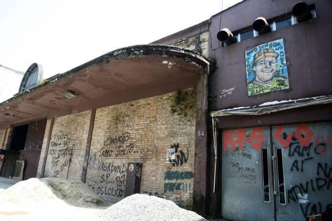 Chorão Skate Park está prestes a ser demolida.