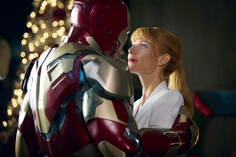 Homem de Ferro 3: a atriz Gwyneth Paltrow