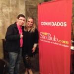 Gustavo Verdelone e Vânia Maria Garcia: adoram conhecer bares
