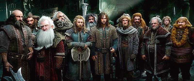 O Hobbit — A Batalha dos Cinco Exércitos: o grupo de anões toma a montanha de Erebor, de volta ao reino de Thorin