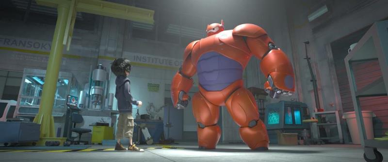 Operação Big Hero: robô criado para participar de lutas clandestinas