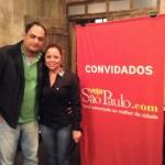 Max Fernandes e Vanessa Araújo: atenados em restaurantes