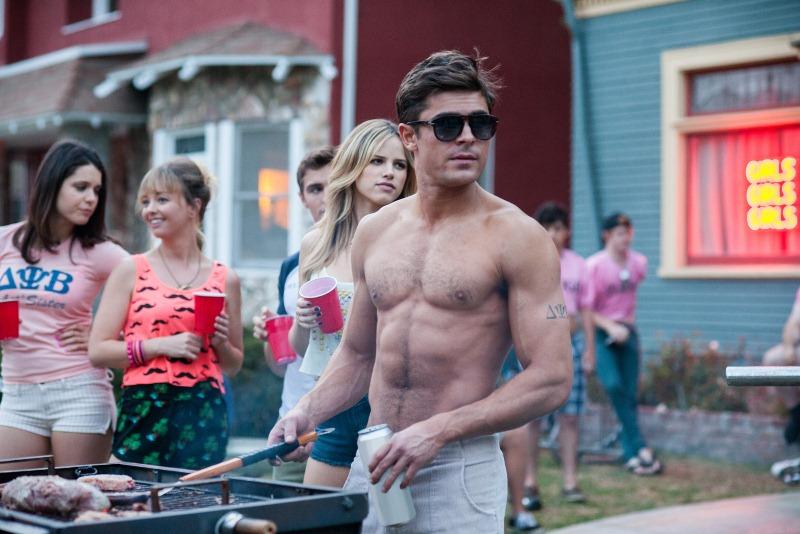 Vizinhos: o vizinho das confusões Teddy Sanders (Zac Efron)