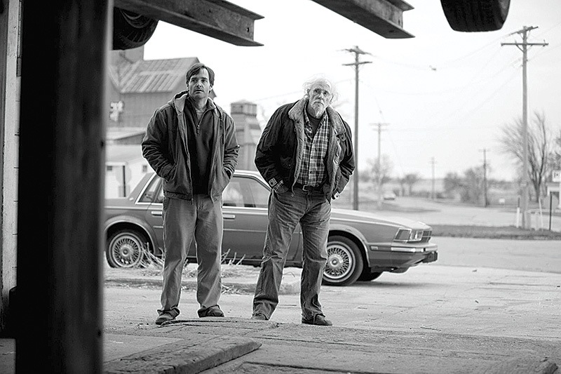 Nebraska: os atores Will Forte e Bruce Dern