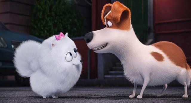 Gigi e Max: amigos e vizinhos em 'Pets'