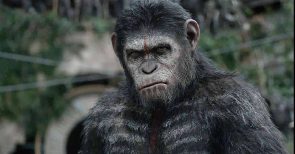 Repare na perfeição dos efeitos visuais com o personagem César