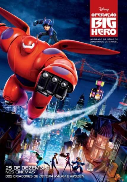 Operação Big Hero: pôster do filme