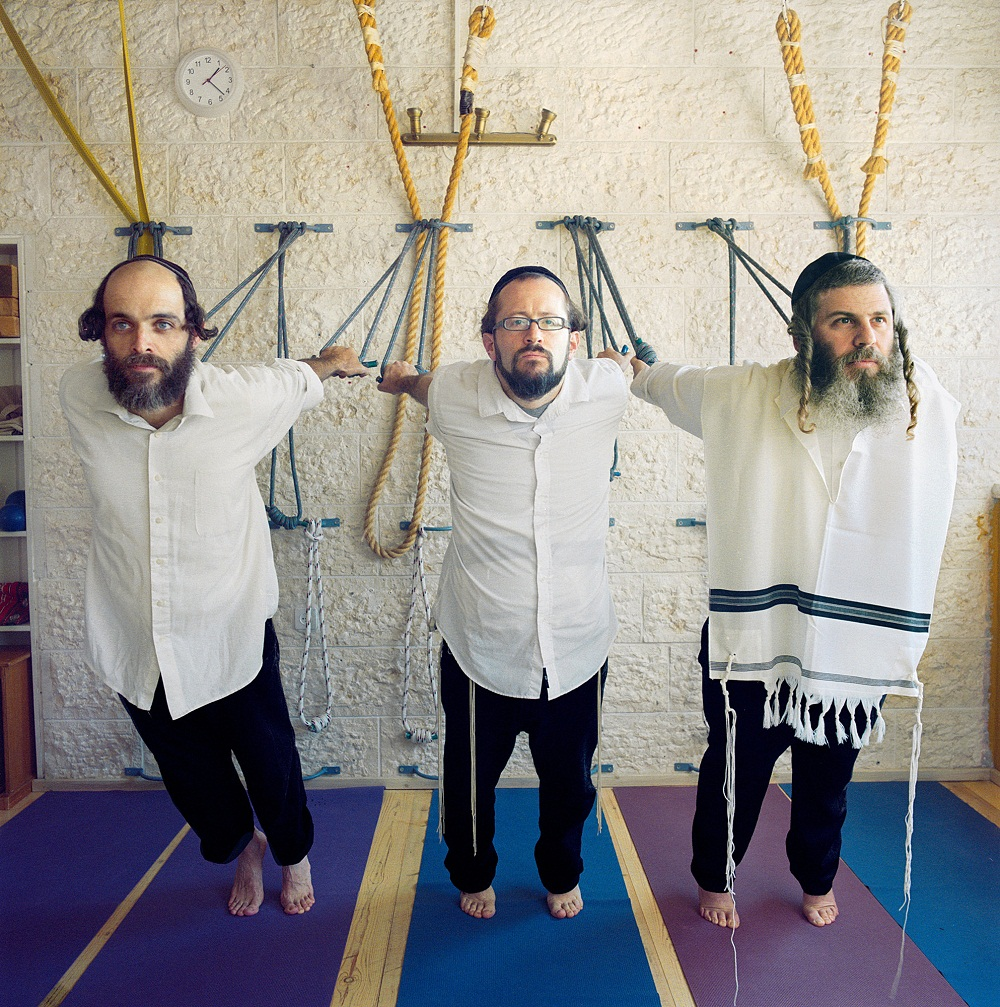 Estúdio de yoga para judeus ortodoxos em Israel
