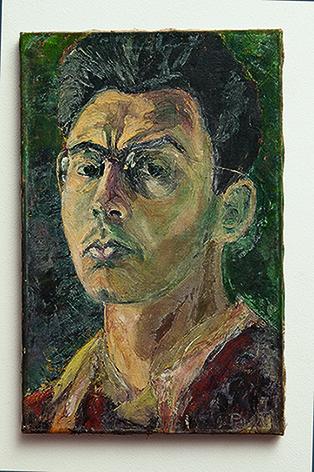 Autorretrato (1945) de Abraham Palatinik