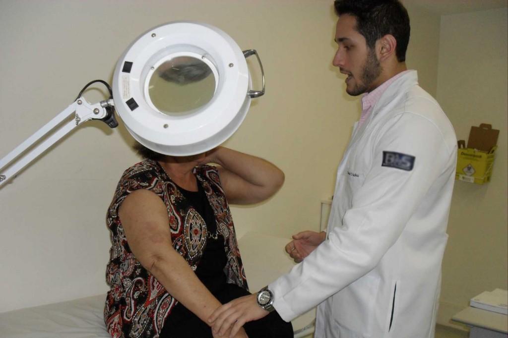 Consultas gratuitas e orientação nos tratamentos é o que promove a Semana da Pele Saudável