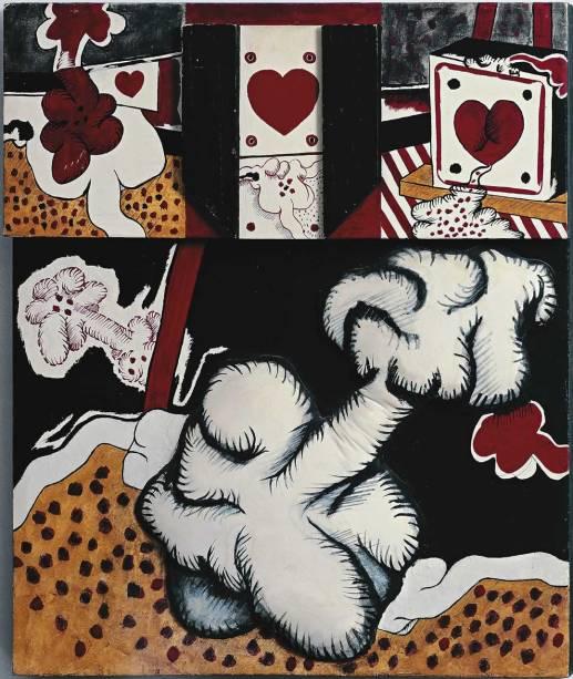 Antonio Dias: mostra com trabalhos dos anos 60