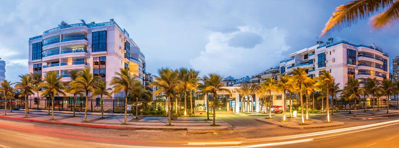 Condomínio de luxo na Barra da Tijuca: Del Nero comprou duas coberturas no lugar