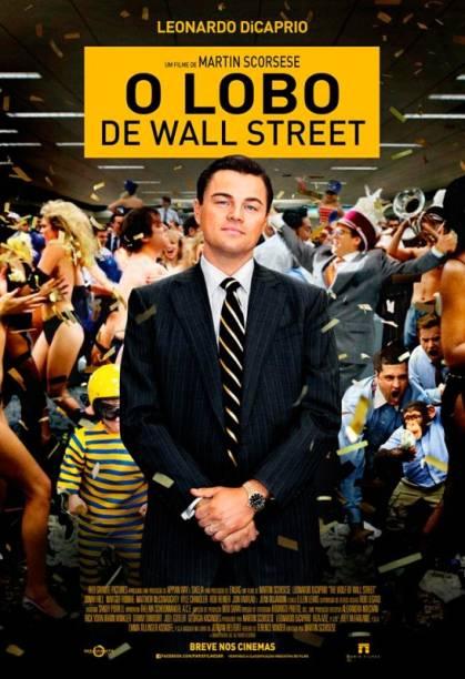 O Lobo de Wall Street: pôster do filme