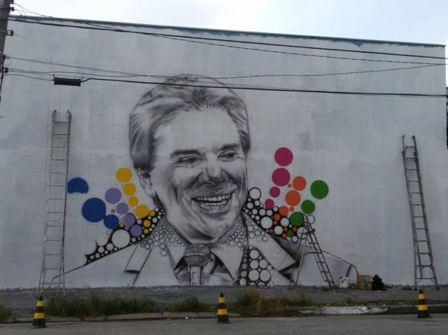 Grafite Silvio Santos