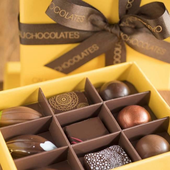 Cau Chocolates: Yellow box