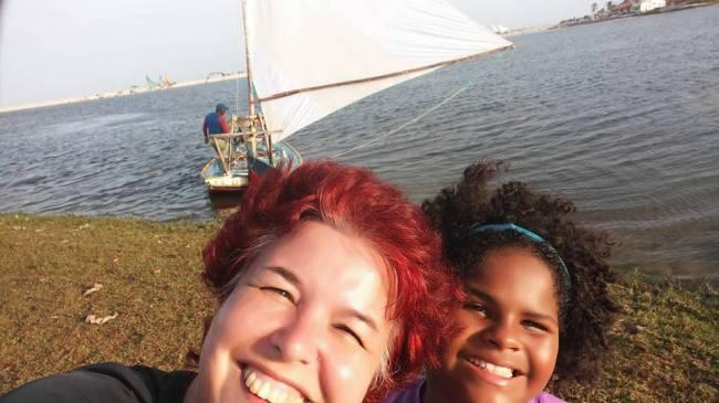 Mônica Duartes e a filha, Mariane