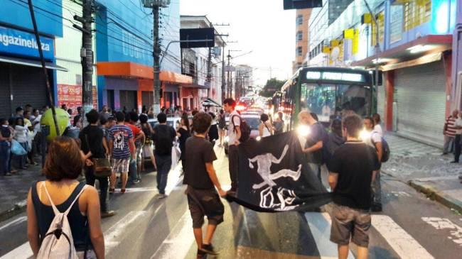 Manifestação Passe Livre Lapa