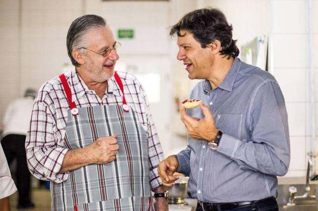 Fernando Haddad e John Neschiling
