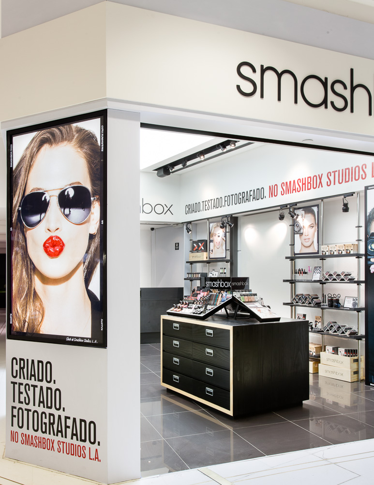 Smashbox: primeira pop-up store no Brasil é em São Paulo