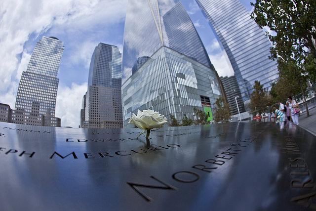 Local preserva a memória do atentado de 11 de setembro de 2001 (Foto: Anthony Quintano)