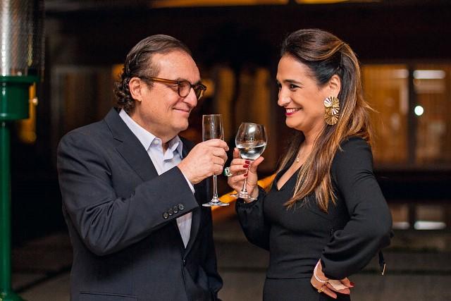 O empresário Tutinha com a ex-mulher, Flavia Eluf: briga por bens (Foto: Bruno Poletti/Folhapress)