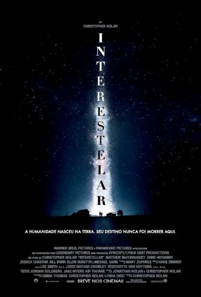 Interestelar: pôster do filme