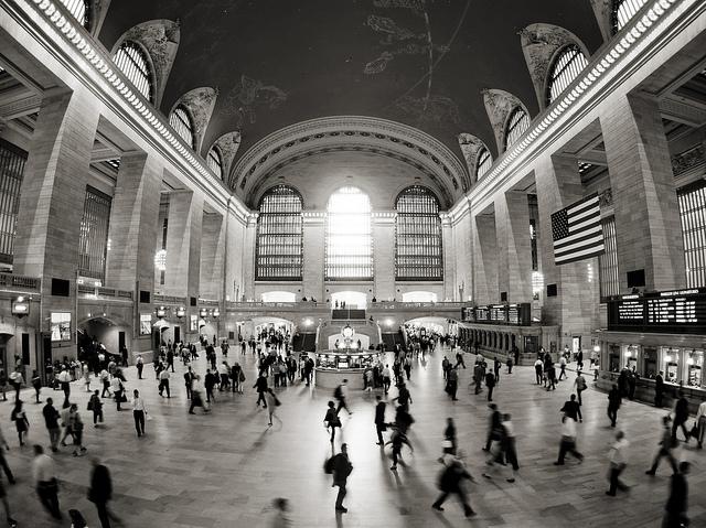Grand Central Station, palco de clássicos do cinema (Foto: Andrew Roberts, no Flickr)