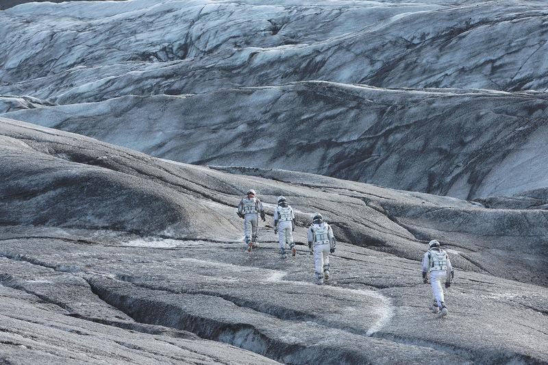 Interestelar: grupo de exploradores