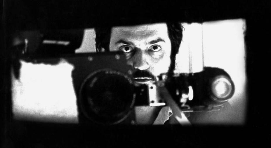 O diretor nas filmagens de 2001:Uma Odisseia no Espaço