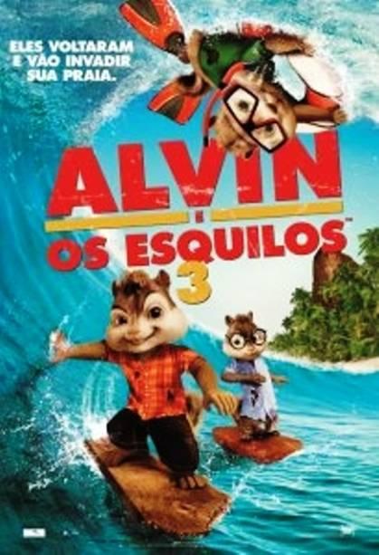 Alvin e os Esquilos 3: pôster do filme