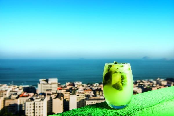 Bar do Alto: encarapitado no Morro da Babilônia, no Rio (foto: Tomas Rangel)