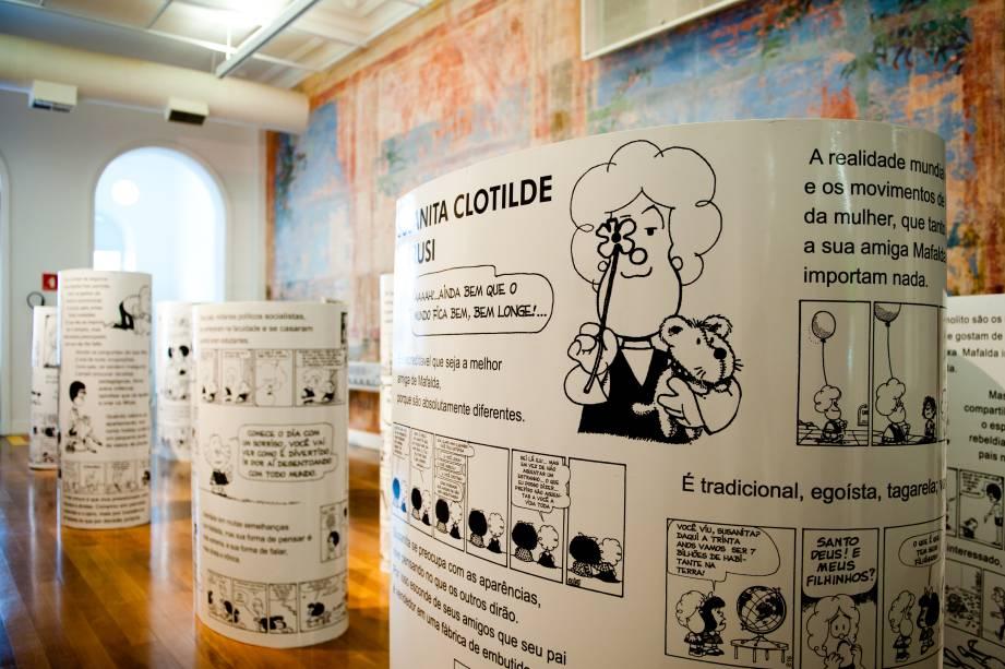 O Mundo Segundo Mafalda: os amigos da personagem são apresentados aos visitantes