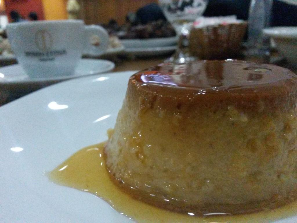 Do Sertão Bar e Restaurante: pudim e café expresso por R$ 6,90 (Foto: Mariana Oliveira)
