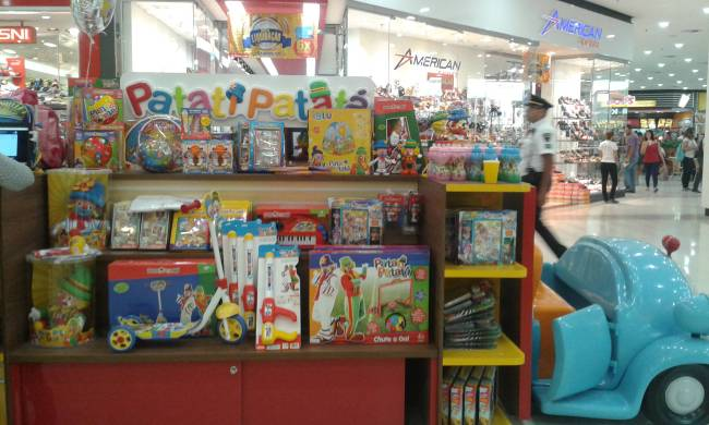 Quiosque Patati Patatá - Shopping Metrô Itaquera