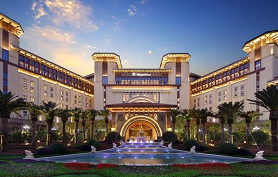 Resorts fazem parte do complexo
