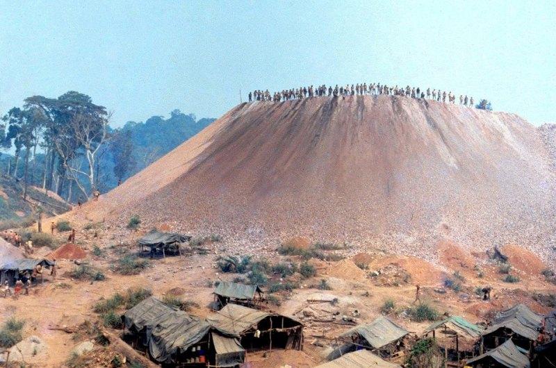 Serra Pelada - A Lenda da Montanha de Ouro:a Serra Pelada, no sul do Pará