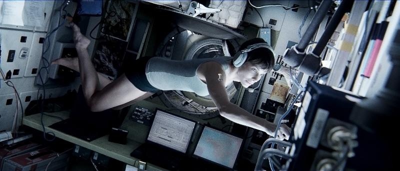 Gravidade: a atriz Sandra Bullock está na trama