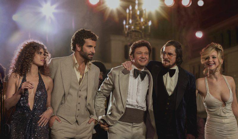Trapaça: Amy Adams, Bradley Cooper, Jeremy Renner, Christian Bale e Jennifer Lawrence