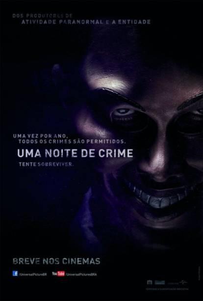 Uma Noite de Crime: pôster do filme