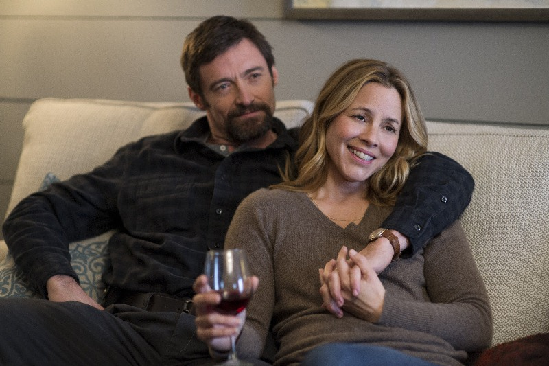 Os Suspeitos: os atores Hugh Jackman e Maria Bello