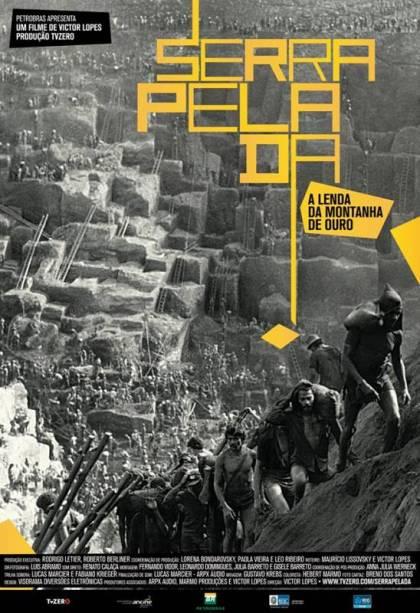 Serra Pelada - A Lenda da Montanha de Ouro: pôster do filme