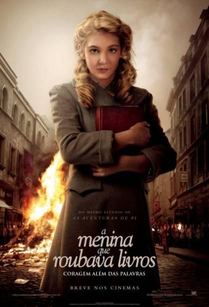 A Menina que Roubava Livros: pôster do filme