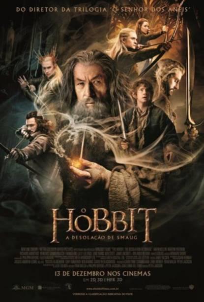 O Hobbit - A Desolação de Smaug: pôster do filme