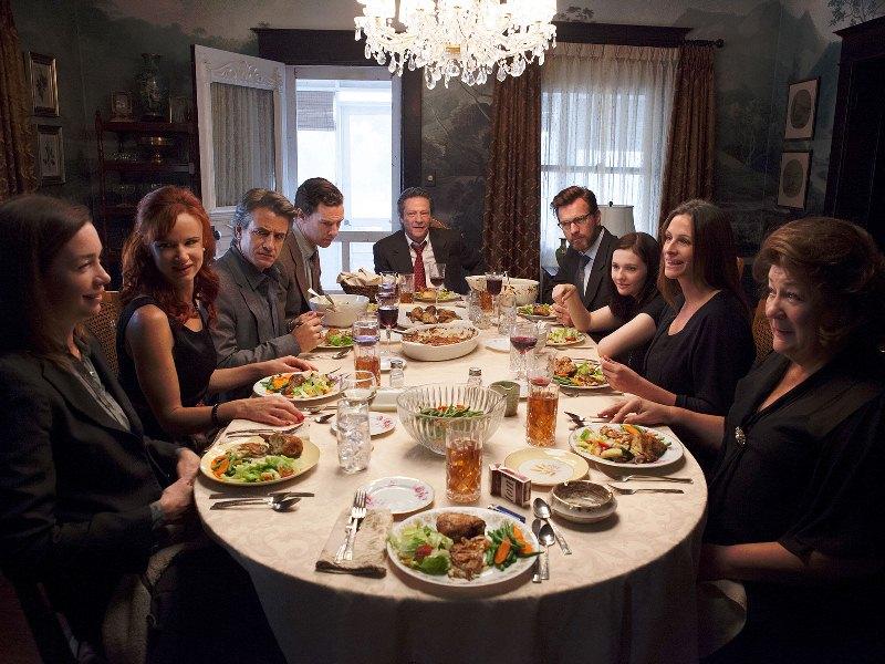 Álbum de Família: a atriz Julia Roberts está na trama