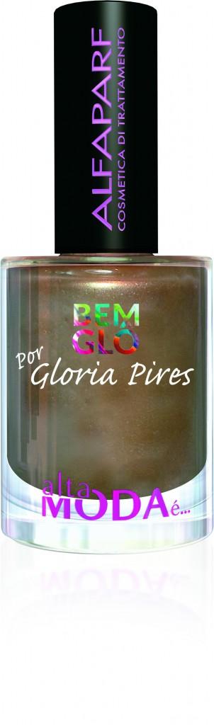 22- Esmalte Coleção Gloria Pires, cor Pura Riqueza, da Alfaparf