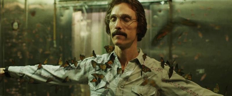 Clube de Compras Dallas: o ator Matthew McConaughey