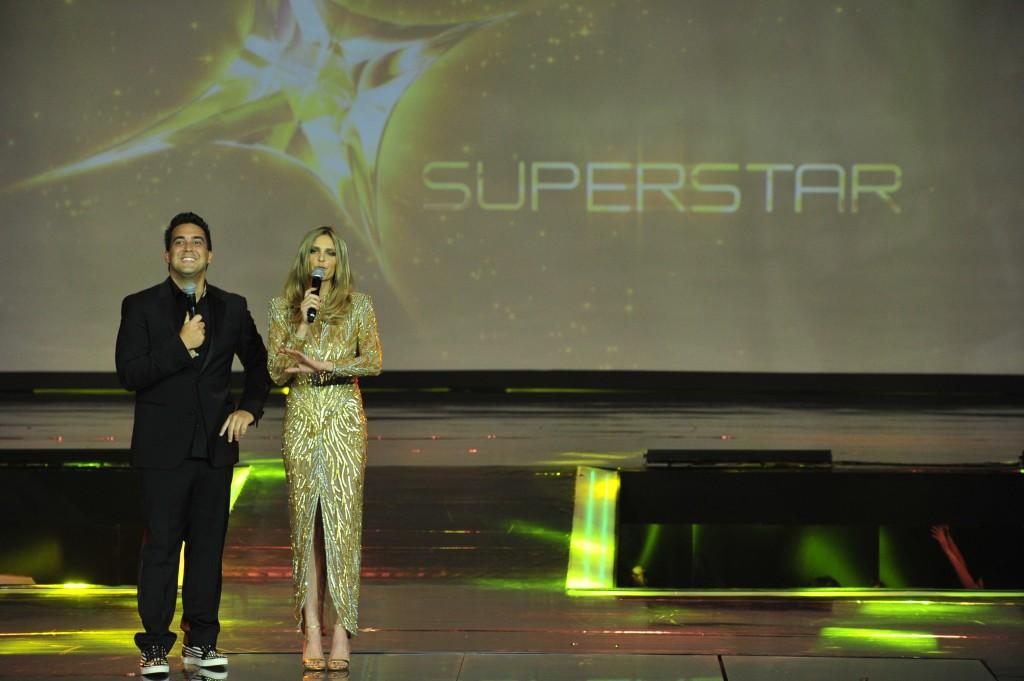 André Marques e Fernanda Lima: apresentadores do Super Star, novo programa de calouros da Globo