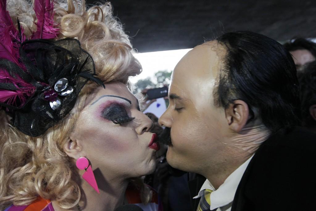 Beijaço gay na Paulista